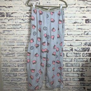 Life Is Good Lounge Pajama Pants Sz Small coffee